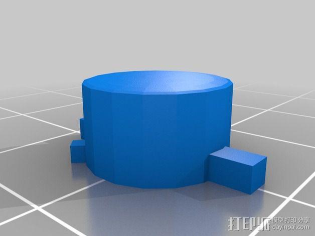 SNES游戏机手柄 3D模型  图15