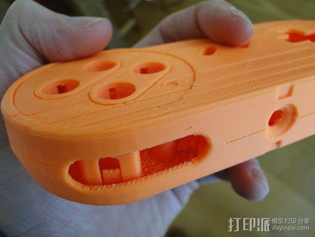 SNES游戏机手柄 3D模型  图19