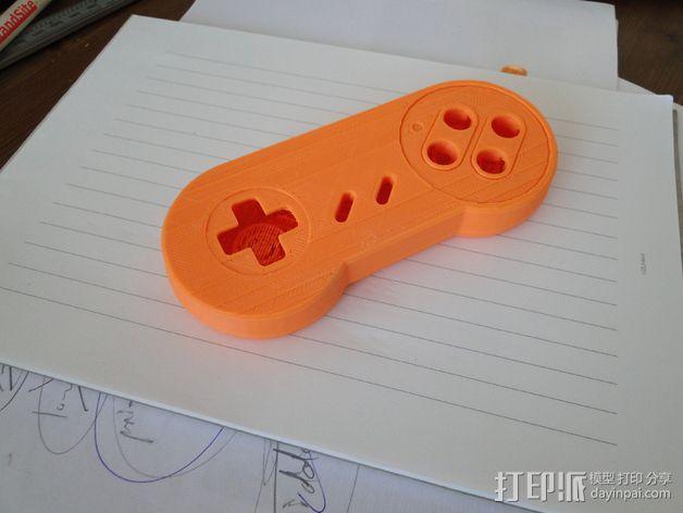 SNES游戏机手柄 3D模型  图18