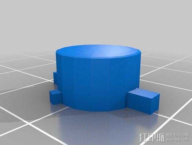 SNES游戏机手柄 3D模型  图16