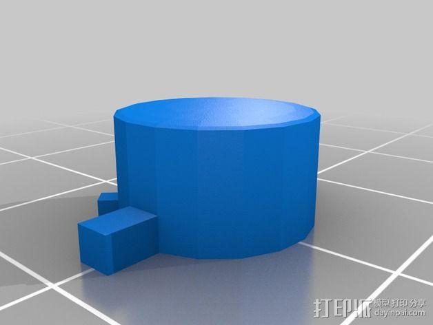 SNES游戏机手柄 3D模型  图17