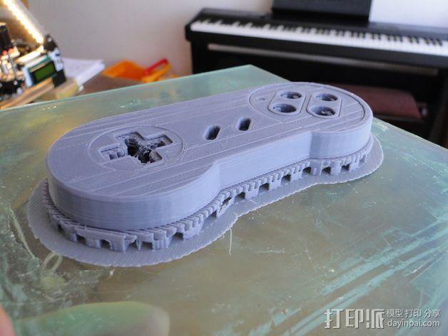 SNES游戏机手柄 3D模型  图22