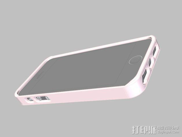 iPhone手机外壳 3D模型  图1