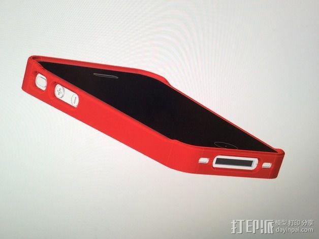 iPhone手机外壳 3D模型  图5