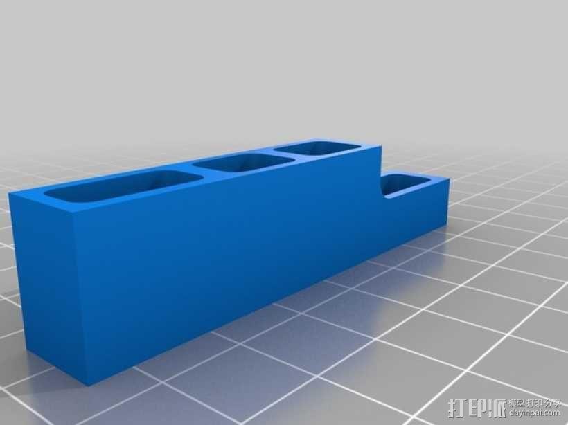 苹果Macbook Pro电脑插孔保护壳 3D模型  图3