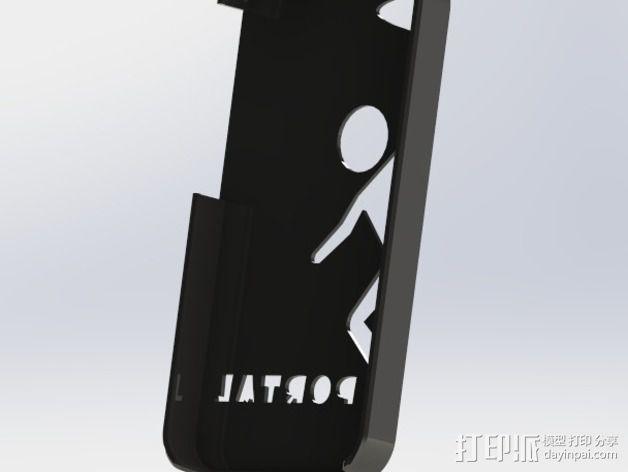 传送门元素iPhone4s手机套 3D模型  图4