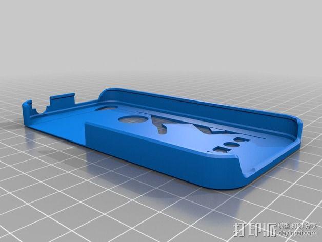 传送门元素iPhone4s手机套 3D模型  图2