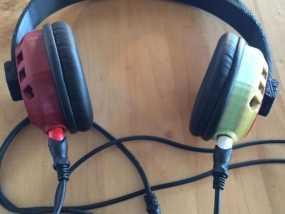 立体音头戴式耳机 3D模型