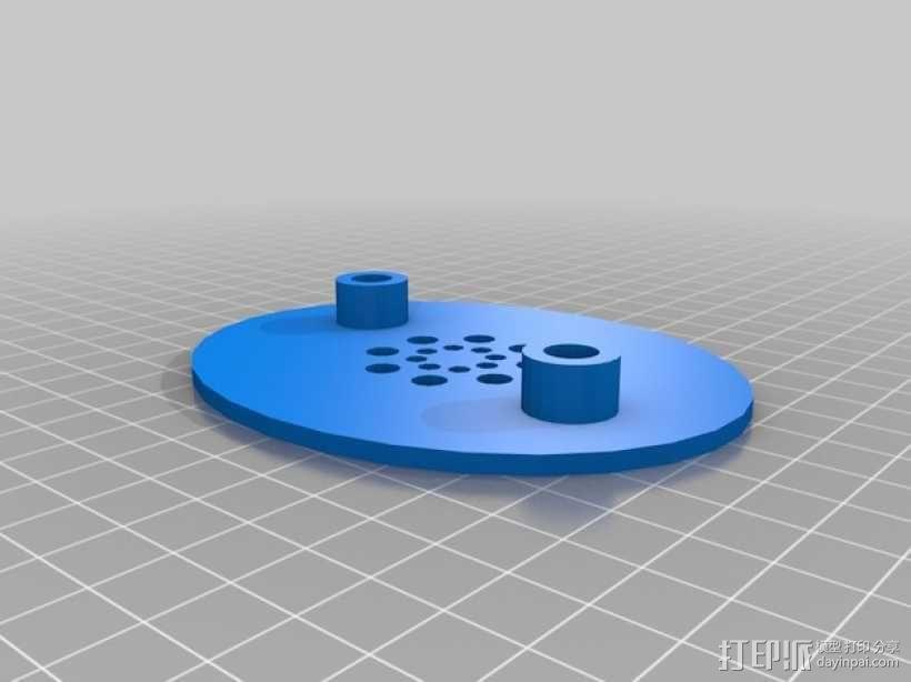 立体音头戴式耳机 3D模型  图5