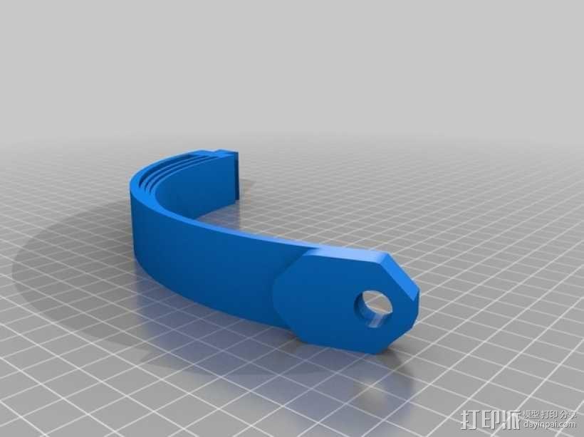 立体音头戴式耳机 3D模型  图7