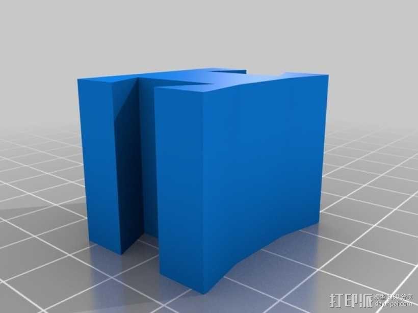 立体音头戴式耳机 3D模型  图8