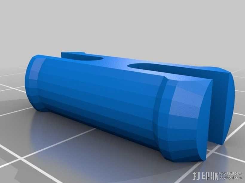 立体音头戴式耳机 3D模型  图10