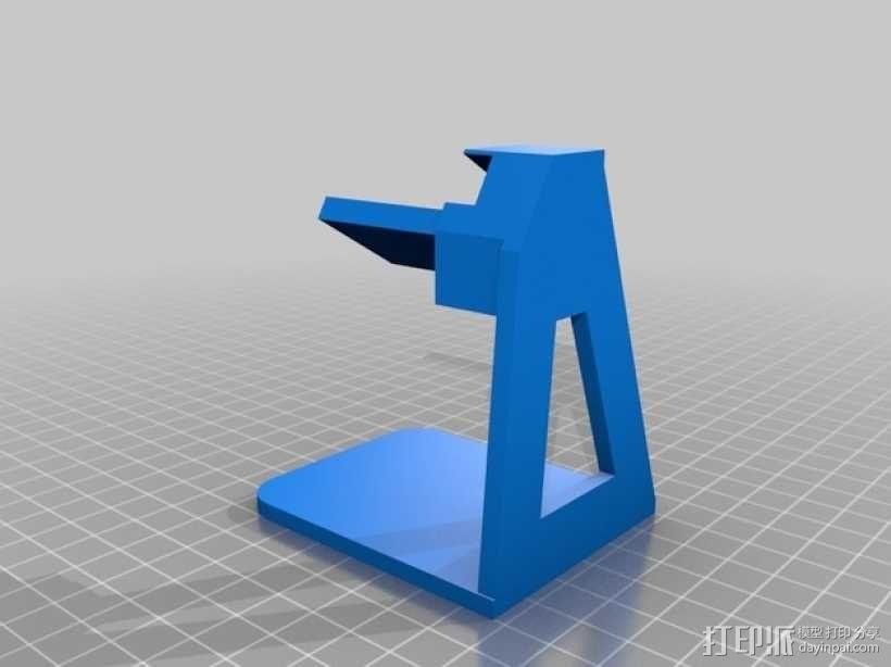 Pebble手表充电座 3D模型  图1