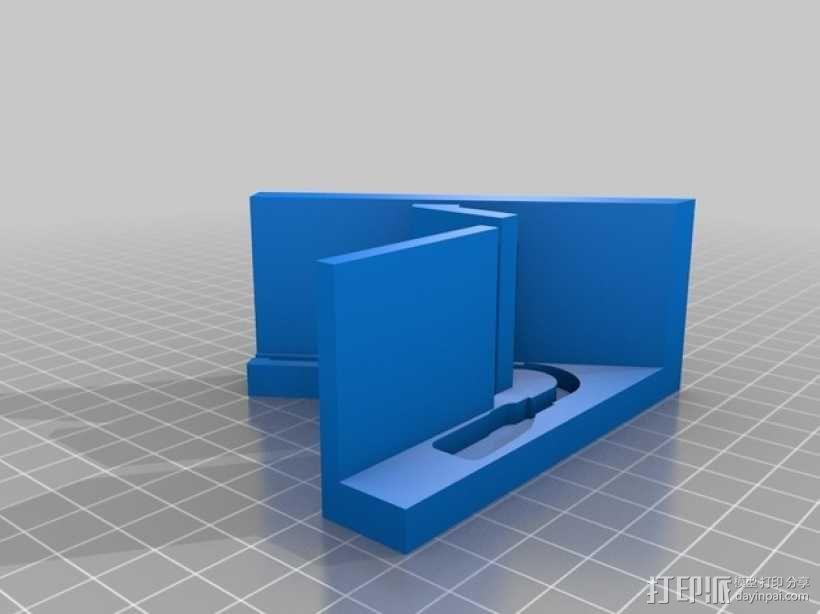 Pebble手表展示架 3D模型  图1