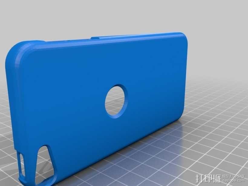 iPod touch 5苹果小平板保护外壳 3D模型  图1