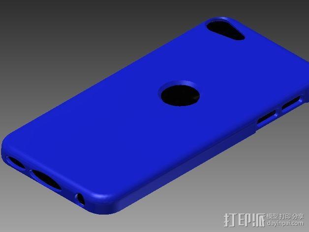iPod touch 5苹果小平板保护外壳 3D模型  图2