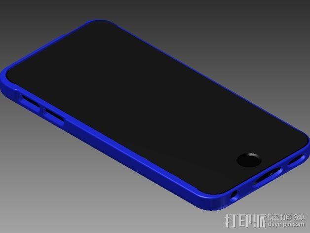 iPod touch 5苹果小平板保护外壳 3D模型  图3