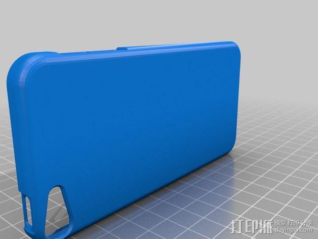 iPod touch 5苹果小平板保护外壳 3D模型  图4