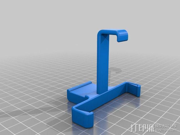 车载式iPhone 4 /5手机支架  3D模型  图2