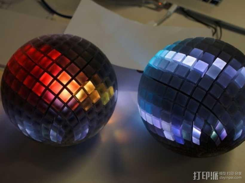 水晶球音箱 3D模型  图1