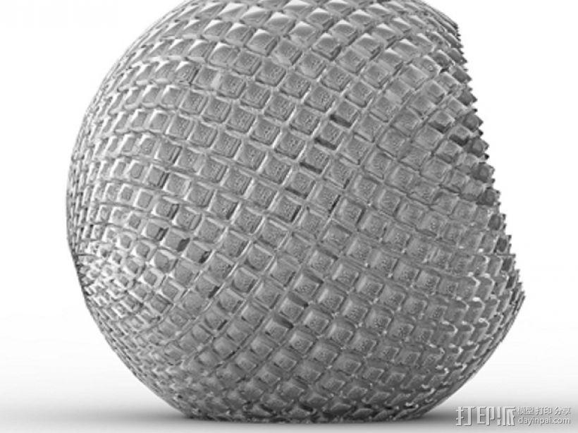 水晶球音箱 3D模型  图3