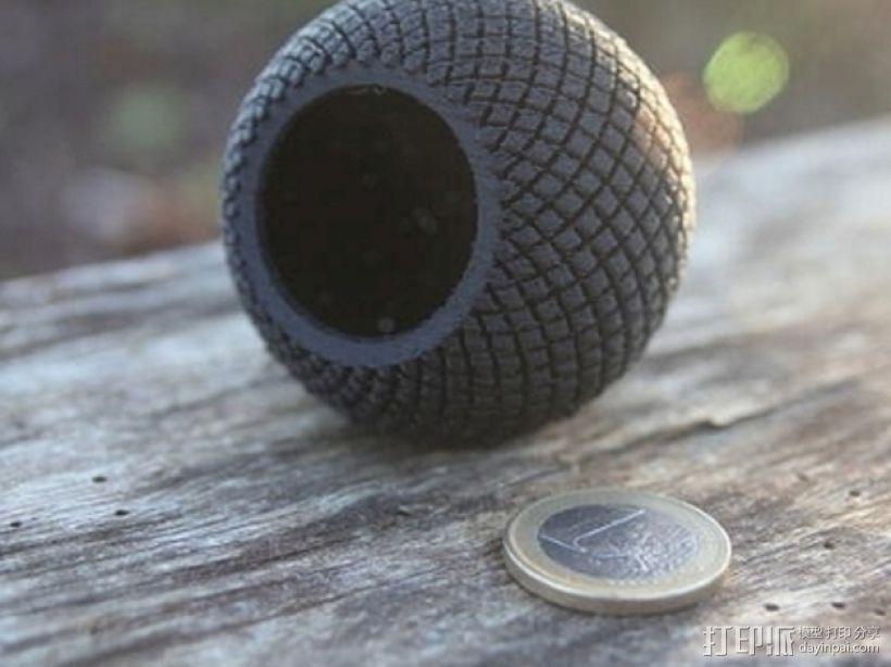 水晶球音箱 3D模型  图4