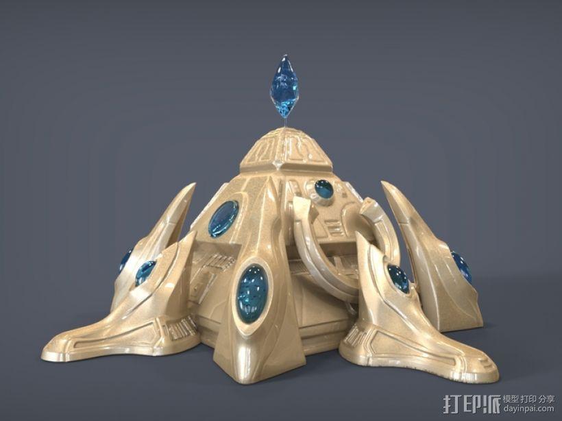 星际争霸神族基地 3D模型  图1