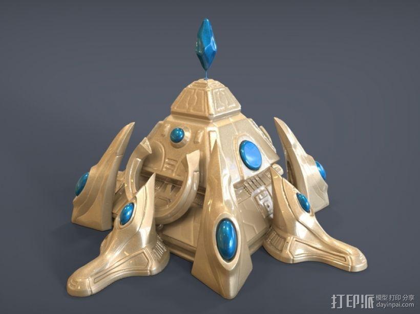星际争霸神族基地 3D模型  图2