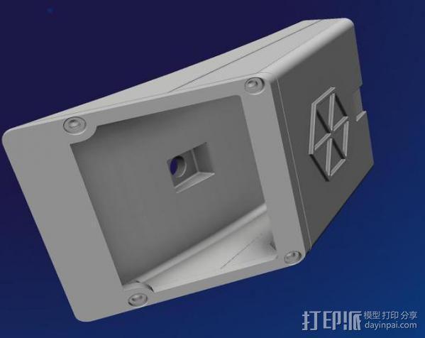 分光仪 3D模型  图6