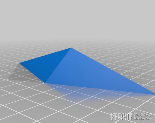 水晶 钻石  3D模型  图2
