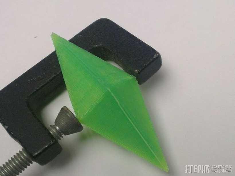 水晶 钻石  3D模型  图1