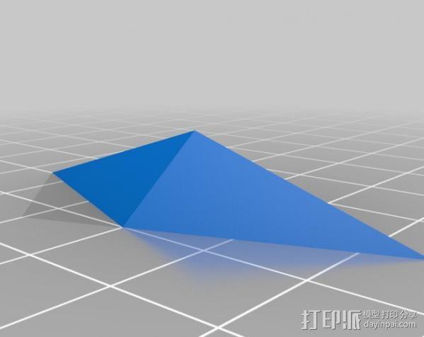 水晶 钻石  3D模型  图3