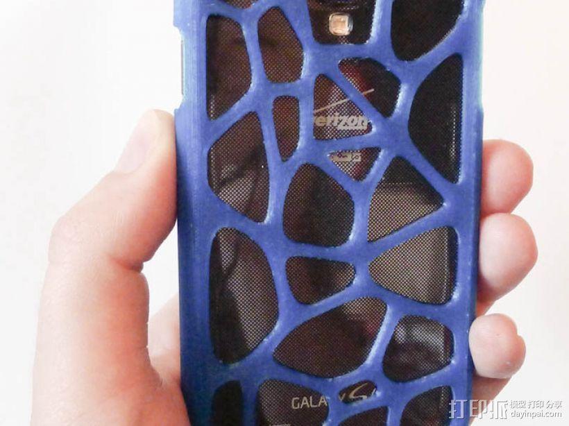 网状三星Galaxy S4手机套 3D模型  图1