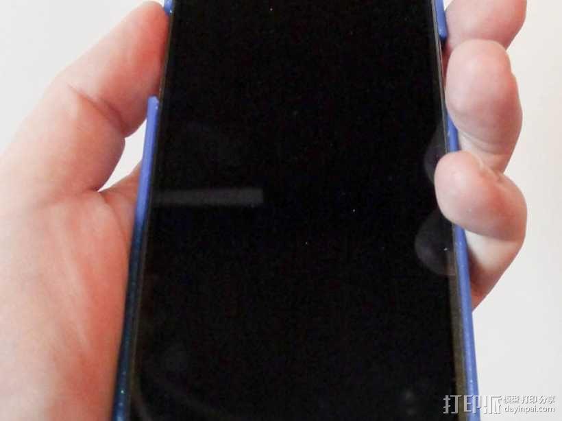 网状三星Galaxy S4手机套 3D模型  图3