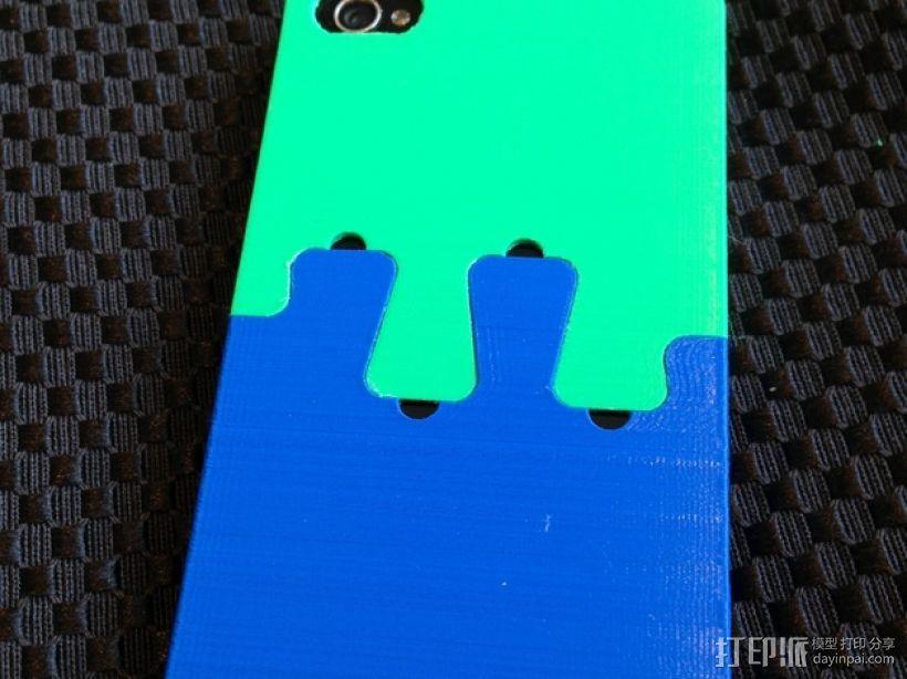 鸽子尾巴iPhone4手机套 3D模型  图4