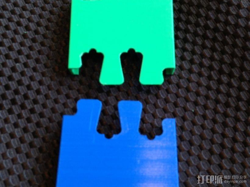鸽子尾巴iPhone4手机套 3D模型  图5