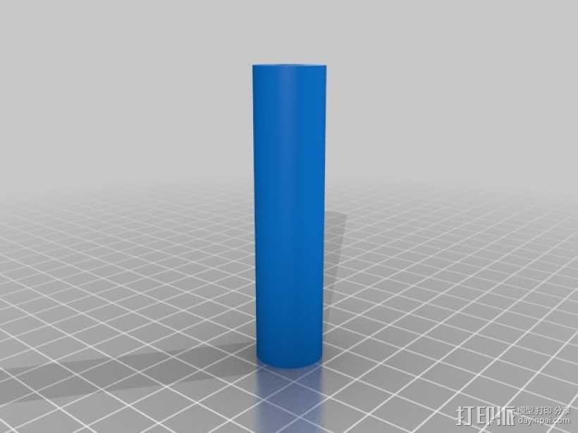 GoPro Hero 3相机框 相机盒 3D模型  图4