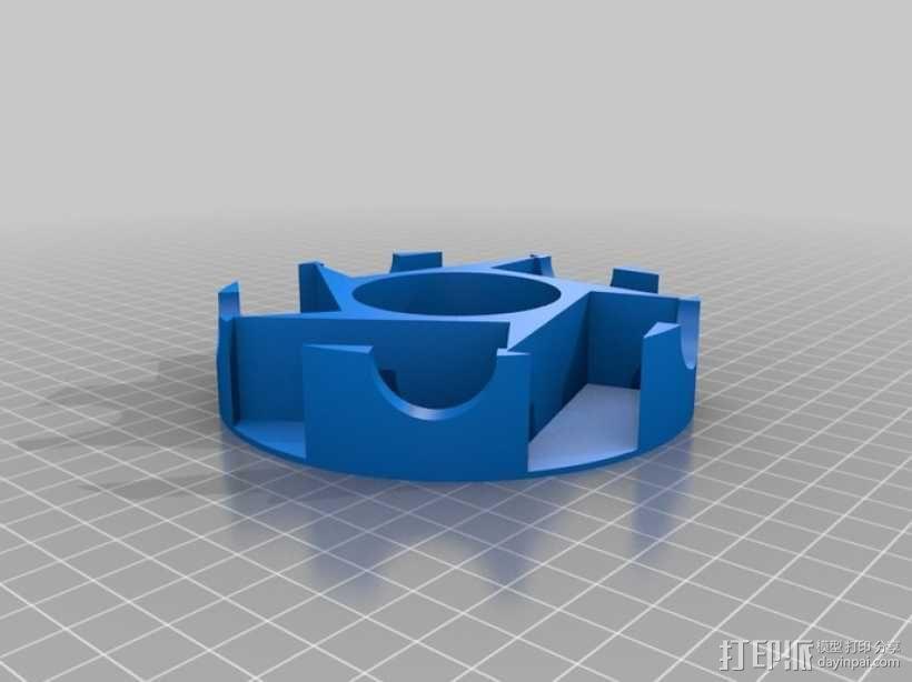 GoPro Hero 3相机框 相机盒 3D模型  图5