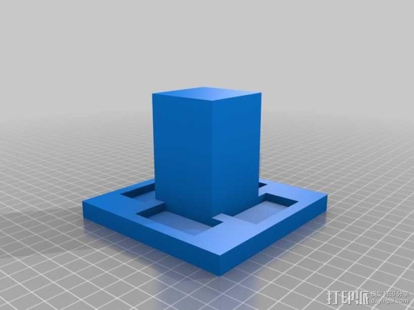 GoPro Hero 3相机框 相机盒 3D模型  图8