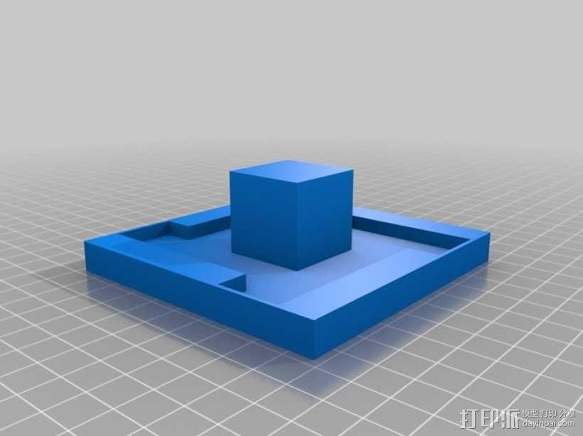 GoPro Hero 3相机框 相机盒 3D模型  图10