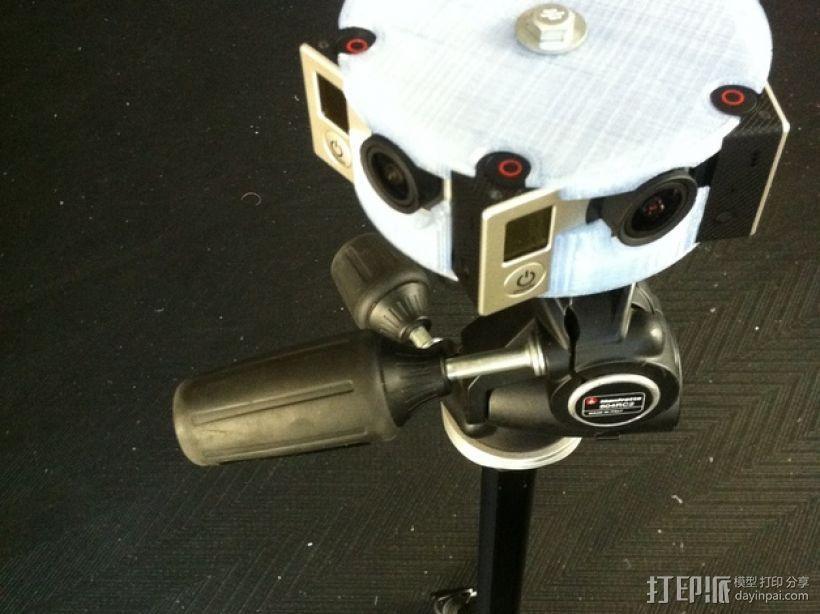 GoPro Hero 3相机框 相机盒 3D模型  图12