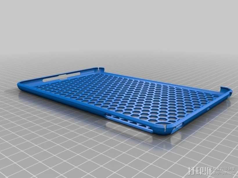 iPad Mini 蜂巢平板电脑保护外壳 3D模型  图1