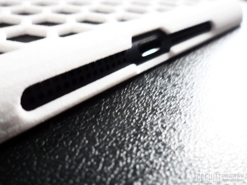 iPad Mini 蜂巢平板电脑保护外壳 3D模型  图5