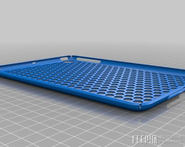 iPad Mini 蜂巢平板电脑保护外壳 3D模型  图2