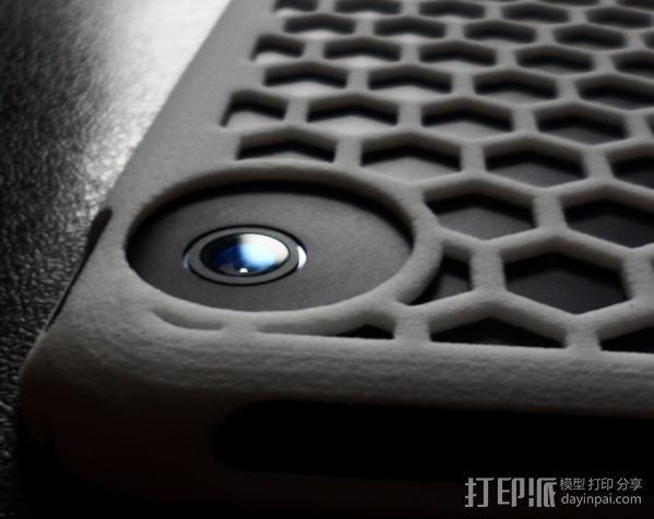 iPad Mini 蜂巢平板电脑保护外壳 3D模型  图4