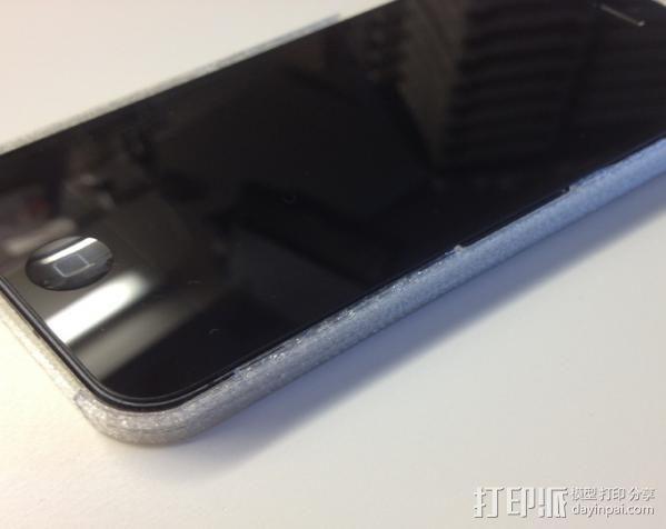 超薄的iPhone5/5s手机套 3D模型  图2