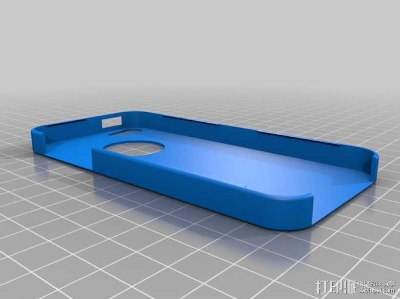 超薄的iPhone5/5s手机套 3D模型  图1