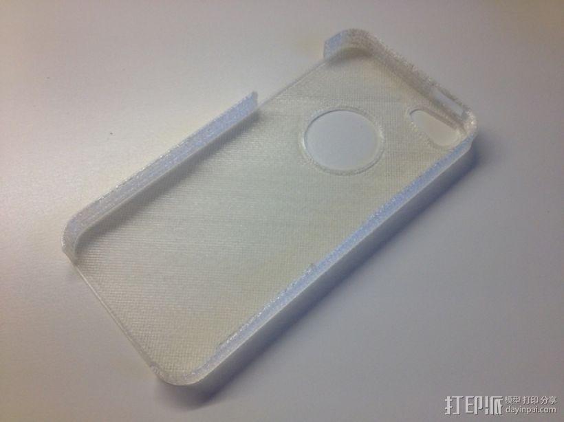 超薄的iPhone5/5s手机套 3D模型  图4