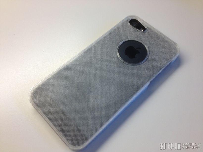 超薄的iPhone5/5s手机套 3D模型  图3