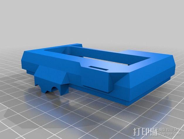 树莓派保护外壳 3D模型  图2